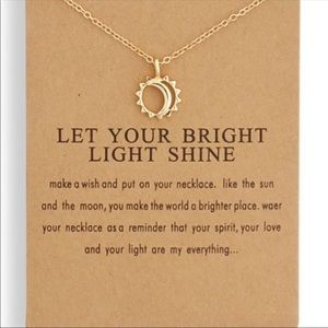 Let your Bright Light Shine necklace